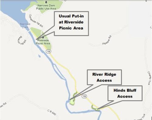Riverside Hinds River Ridge Map