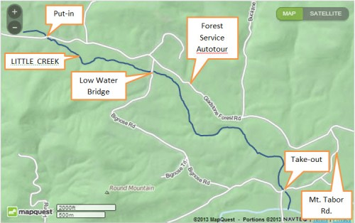 Little Creek Map
